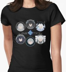 Lastation Guardians v2 Womens Fitted T-Shirt