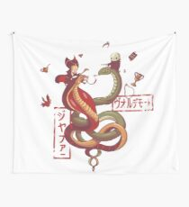 Dancing snakes Wall Tapestry
