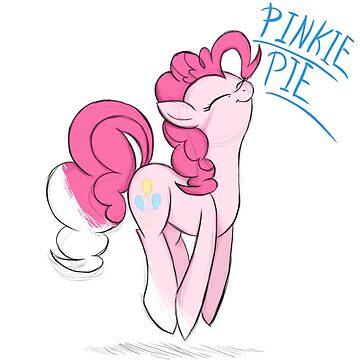 Pinkie Pie - Mid Drawing by JokersToxin