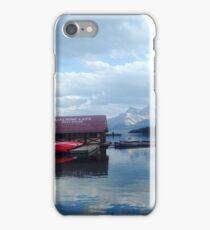 Maligne Lake, Canada iPhone Case/Skin