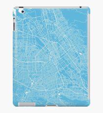 San Jose map blue iPad Case/Skin