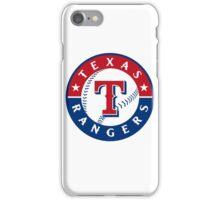 texas rangers iPhone Case/Skin