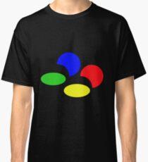Super Nintendo SNES four colors quadcolor Classic T-Shirt