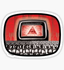 DEMOCRO-VISION Sticker
