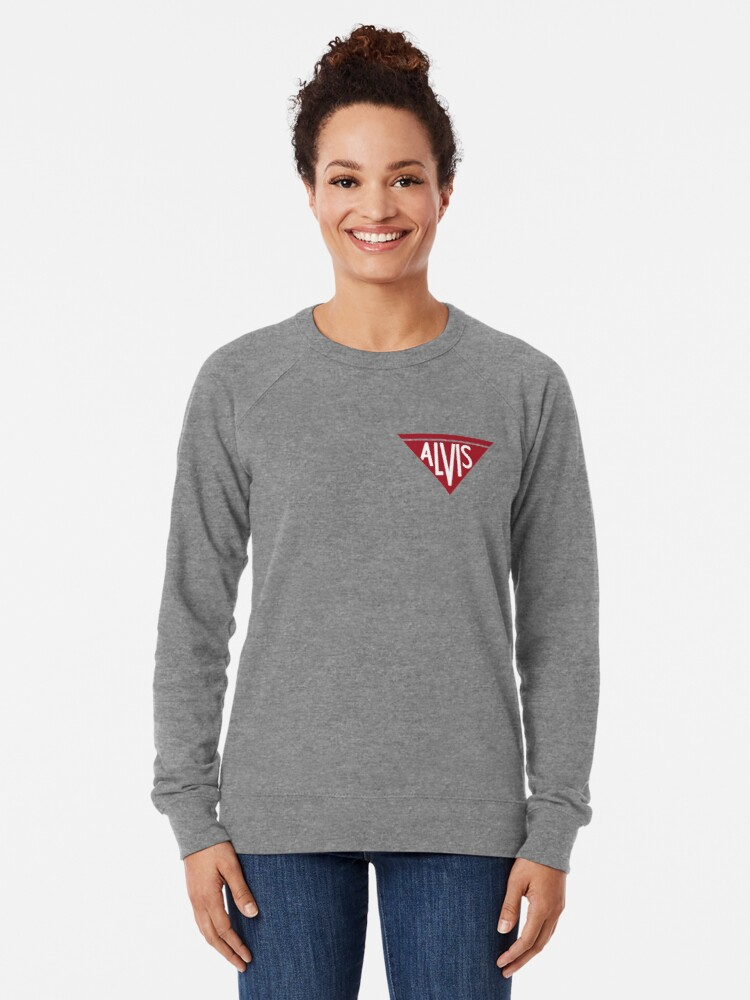 Alternate view of Alvis Logo Lightweight Sweatshirt