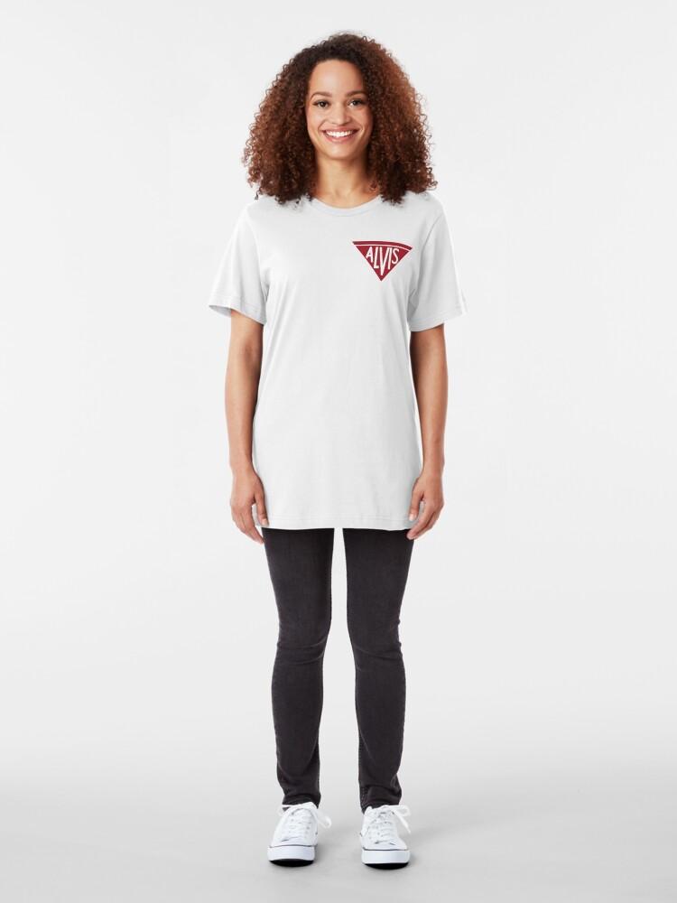Alternate view of Alvis Logo Slim Fit T-Shirt