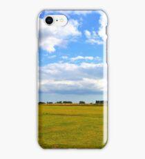 Empty Field iPhone Case/Skin