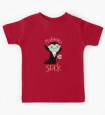 Morgens saugen Kinder T-Shirt