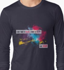 Carl Sagan Quote - I don't want to believe T-Shirt