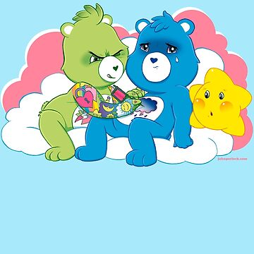 Care Bears Ink (in blue for boys) by johnperlock