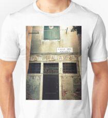 "Old "" Trattoria "" in Venice T-Shirt"