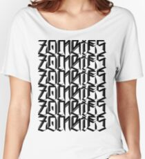 Zombies Zombies Zombies (White) Women's Relaxed Fit T-Shirt