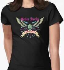 Roller Derby Infirmary (Now In Full Color!) Women's Fitted T-Shirt
