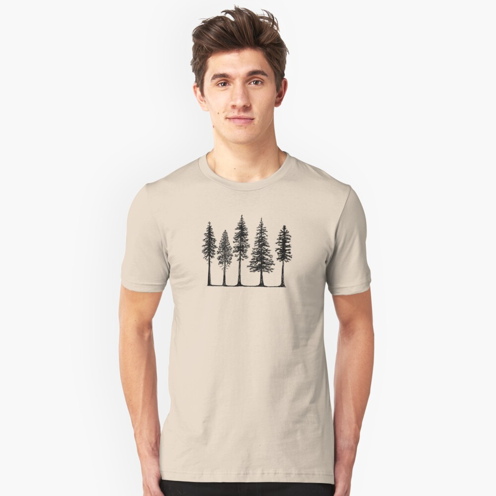 Pines Unisex T-Shirt Front