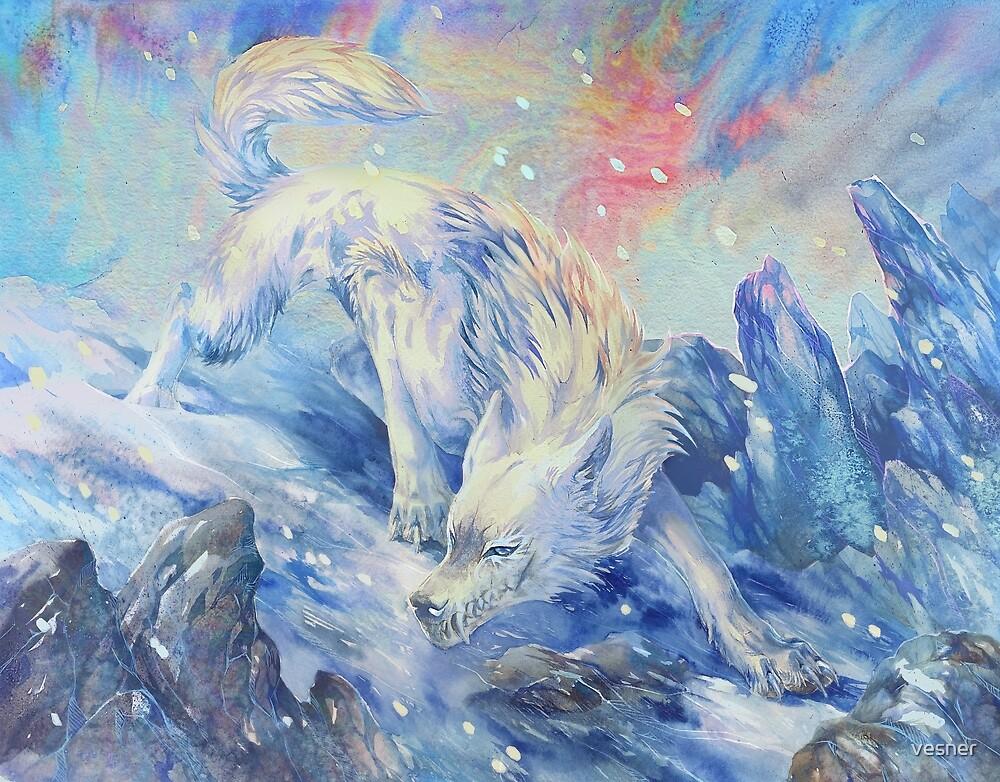 skoll - watercolor by vesner