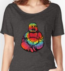 Tie-Dye Buddha 2 Women's Relaxed Fit T-Shirt