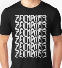 Zombies Zombies Zombies (Black) Unisex T-Shirt