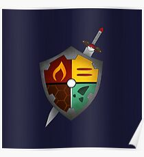 The Poke Shield Poster