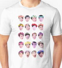Dan and Phil- Flower Crowns Unisex T-Shirt