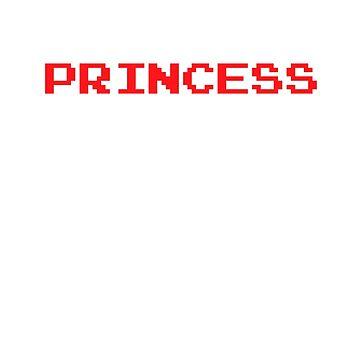 8-Bit Princess by johnperlock