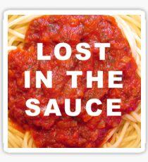 Perdu dans la sauce Sticker