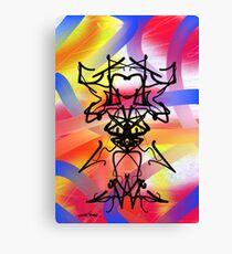 Abstract Gremlin Design Canvas Print