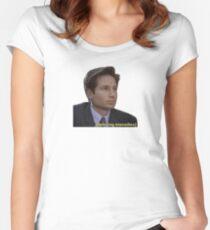 Believing Intensifies Women's Fitted Scoop T-Shirt