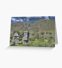 Petrified Trolls at Treble Cone Greeting Card
