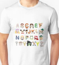 Oz-abet (an Oz Alphabet) - Landscape T-Shirt