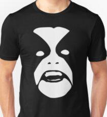 Camiseta unisex La cara de la luna de invierno