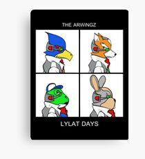 The Arwingz -Lylat Days- Canvas Print