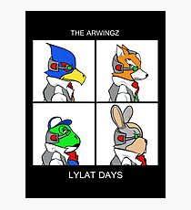 The Arwingz -Lylat Days- Photographic Print