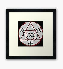 The Philosopher's Stone Symbol Framed Print
