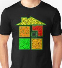 Homestuck Fruity Rumpus Asshole Factory Fruits (and pumpkins) Unisex T-Shirt
