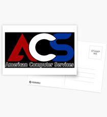 America Computer Services  Postcards