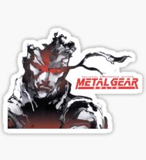 Metal Gear Solid Sticker