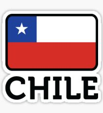 National flag of Chile Sticker