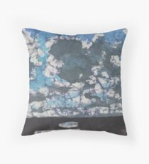 Heavy Clouds Throw Pillow