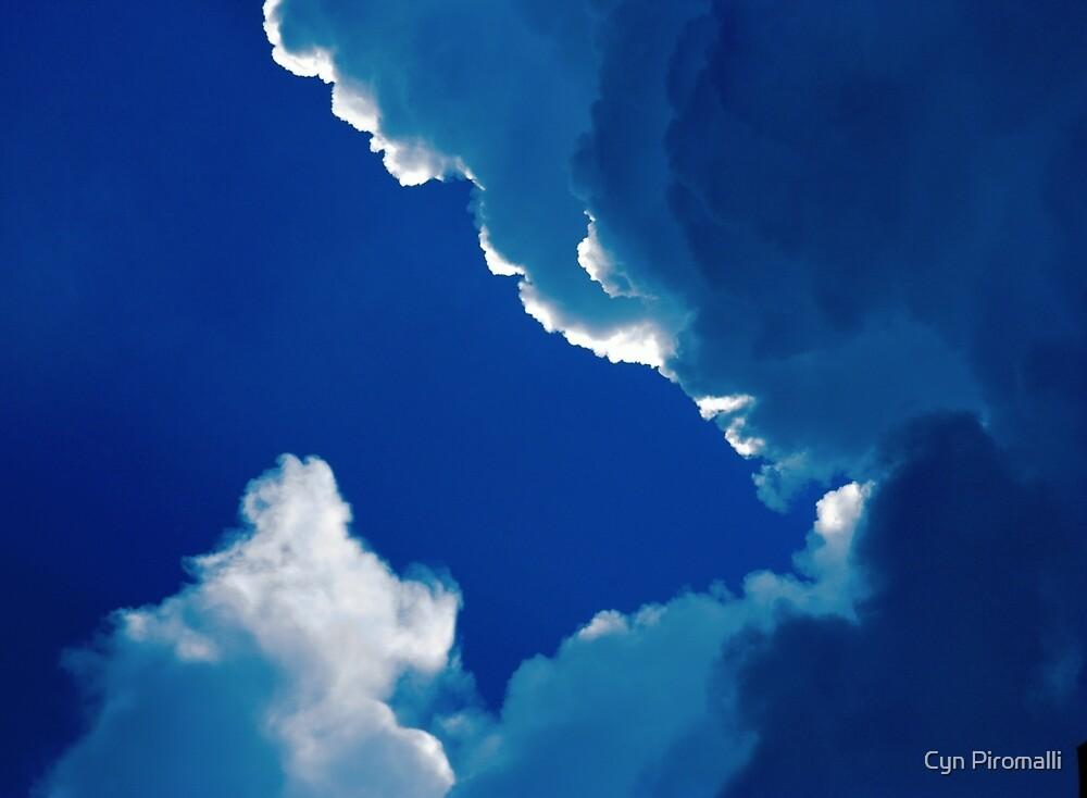Blue by Cyn Piromalli