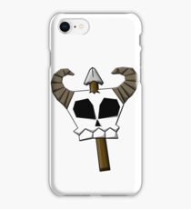 Spear Skull iPhone Case/Skin