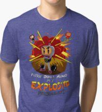 Bomberman's Explosive Personality Tri-blend T-Shirt