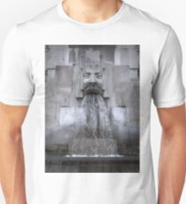 Milan Train Station Fountain T-Shirt