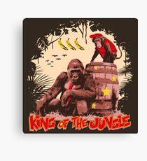 Donkey Kong - King of the Jungle Canvas Print