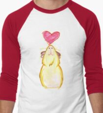 Guinea lovely pig ♥ Men's Baseball ¾ T-Shirt