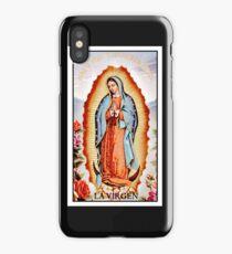 La Virgen iPhone Case/Skin