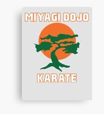 Miyagi Dojo Karate Canvas Print