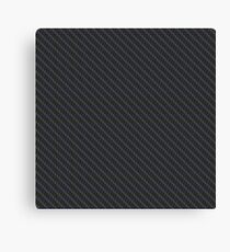 Carbon fibre - blue wire reinforcing Canvas Print