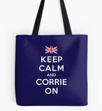 Corrie On Tote Bag