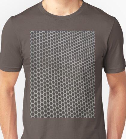 Hexagon mesh 2 - positive T-Shirt