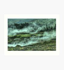 Hill Mountain Forest Nature Fine Art Photography 0042 Art Print